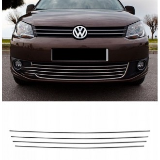VW TOURAN 1T3 CADDY - Chrome Grille Kit 3M Tuning