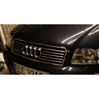 AUDI A4 B6 00-04 - Chrome Grille Kit 3M Tuning