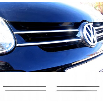 VW GOLF V Mk5 - Chrome Grille Kit 3M Tuning