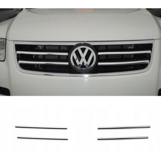 VW TOUAREG I 02 - Chrome Grille Kit 3M Tuning