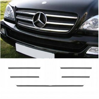 Mercedes ML W163 - Chrome Grille Kit 3M Tuning