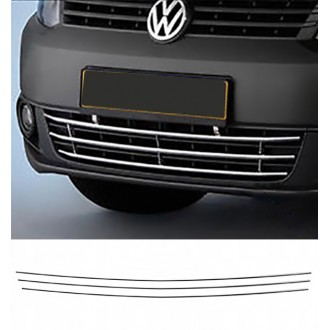 VW CRAFTER - Chrome Grille Kit 3M Tuning