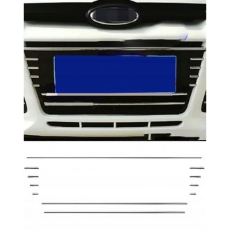 FORD FOCUS MK3 III - Chrome Grille Kit 3M Tuning
