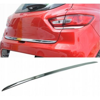 Renault CLIO IV HB - CHROME Rear Strip Trunk Tuning Lid 3M Boot
