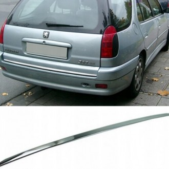 Peugeot 306 SW - CHROME Rear Strip Trunk Tuning Lid 3M Boot