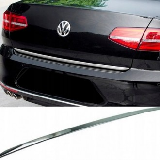 BMW 6 F13 Coupe - CHROME Rear Strip Trunk Tuning Lid 3M Boot
