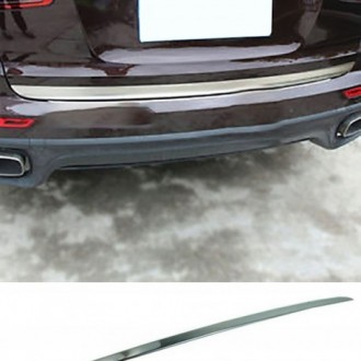 Mercedes C204 Coupe - CHROME Rear Strip Trunk Tuning Lid 3M Boot