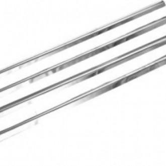 VOLVO XC60 II - Chrom-Zierleiste Heckleiste 3M Tuning Chromleiste Heckklappe