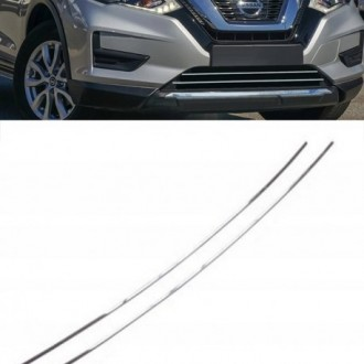 Nissan X-TRAIL T32 - Chrome Grille Kit 3M Tuning