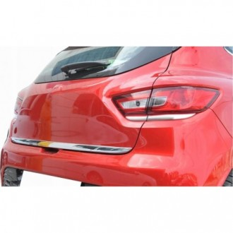 MAZDA 3 II sedan 09-13 - CHROME Rear Strip Trunk Tuning Lid 3M Boot