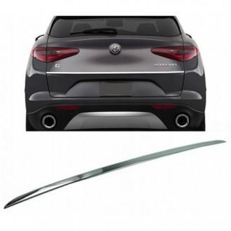 Alfa Romeo STELVIO - CHROME Rear Strip Trunk Tuning Lid...