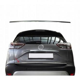 Opel Crossland - CHROME Rear Strip Trunk Tuning Lid 3M Boot