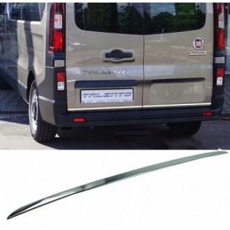 Fiat Talento - CHROME Rear Strip Trunk Tuning Lid 3M Boot