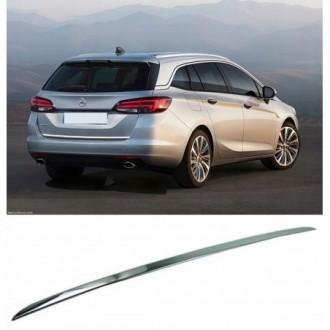 Opel ASTRA K Kombi - CHROME Rear Strip Trunk Tuning Lid...