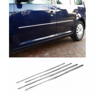 Volkswagen VW TOURAN II - Chrom Zierleisten Türleisten