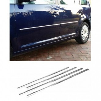 Volkswagen VW TOURAN II - Chrome side door trim