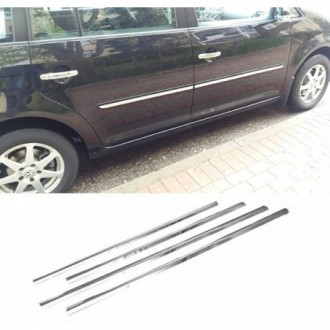 Volkswagen VW TOURAN II - Chrome side door trim