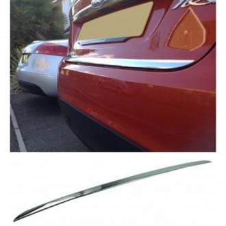 KIA Shuma II - CHROME Rear Strip Trunk Tuning Lid 3M Boot