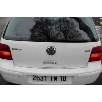 Hyundai Getz - CHROME Rear Strip Trunk Tuning Lid 3M Boot