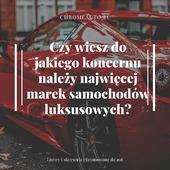 Odpowiedź: do Volkswagena! Do koncernu Volkswagen Group należy obecnie 12 marek zależnych. Są wśród nich przede wszystkim producenci samochodów luksusowych i premium: Porsche, Audi, Bugatti, Bentley czy Lamborghini. . Dominację Volkswagena w branży motoryzacyjnej jeszcze lepiej obrazują poniższe statystyki: do tej marki należy co trzeci pojazd sprzedawany w Niemczech i co dziesiąty na całym świecie. . Sprawdź naszą pełną ofertę na allegro.pl/uzytkownik/CHROMAUTO . . . #bmwpoland #szybkość #efektwow #felgi #prędkość #instapolska #samochoddoslubu #sportowy #samochodysportowe #samochodzik #polskamotoryzacja  #wynajem #efekty #wtrasie #reflektor #kierowca #klasa #mojstyl #blask #lakier #lubię #motoryzacja #jazda #samochody #czarny #dobry